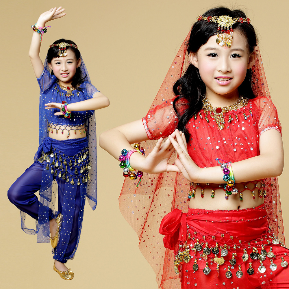 UK Belly Dance Costume Set Dancer Performance Bollywood Carnival Festival Outfit