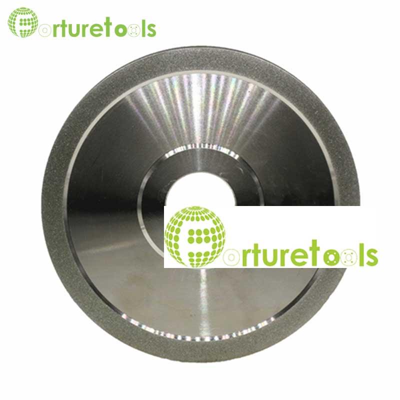1 piece flat diamond coated abrasive wheel for tungsten carbide D150 hole 32mm grit 80~600# E008
