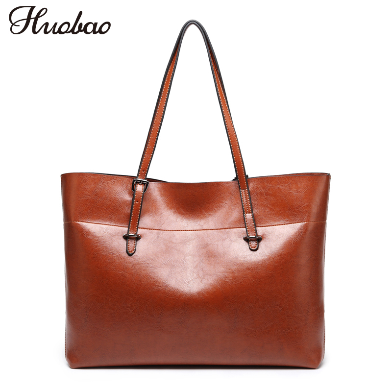 все цены на 2018 Luxury Women Bag Leather Handbags Vintage Designer Big Shoulder Bag Ladies Messenger Bag Women Top-Handle Bags bolsos mujer