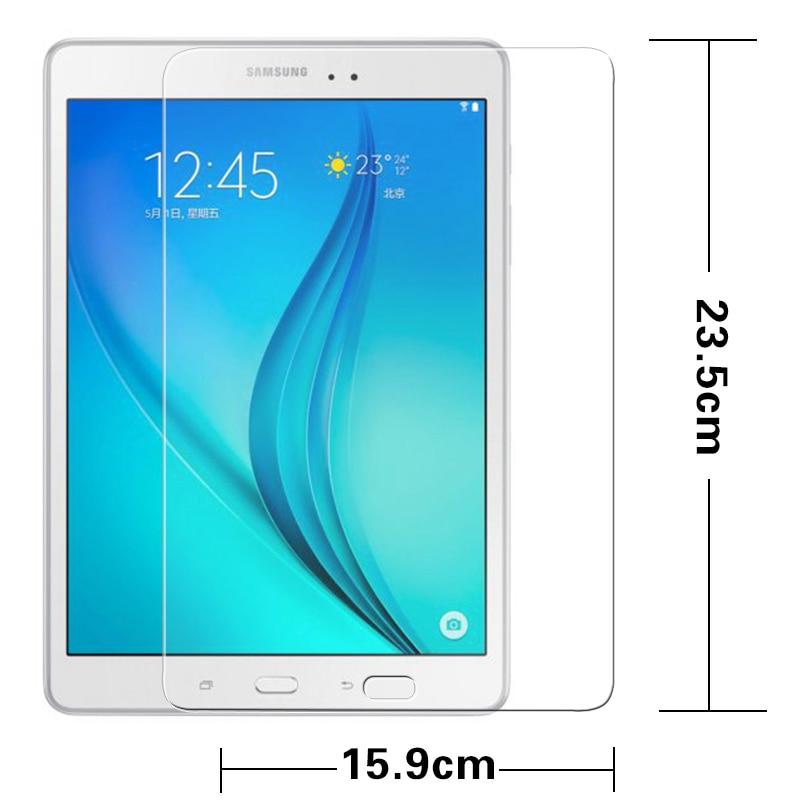 """Premium Anti pecah Kaca Tempered film untuk Samsung Galaxy TAB A T550 T551 T555 9.7 """"Tablet Screen Protector film bukti Awal"""