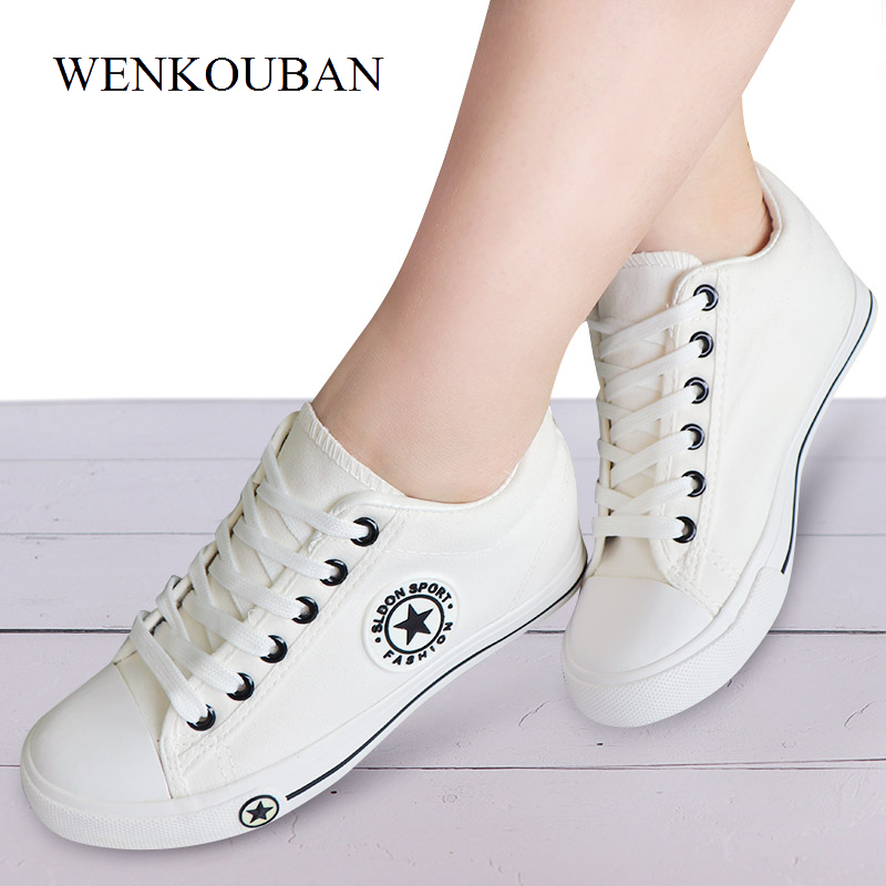 Stars Vulcanized Shoes Women Sneakers Wedges White Shoes Summer Canvas Sneakers Women Casual Shoes Ladies Lace Up Zapatos Mujer Stars Vulcanized Shoes Women Sneakers Wedges White Shoes Summer Canvas Sneakers Women Casual Shoes Ladies Lace Up Zapatos Mujer
