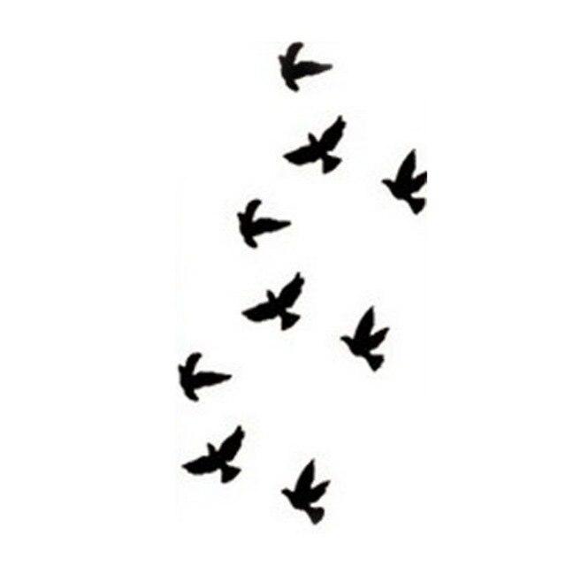 Pajaros Volando Dibujo Para Tatuaje Sfb