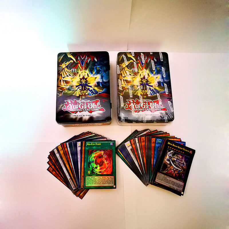 US Version Yu-Gi-Oh English Card Group Dragon Family Green Eye White Dragon Dark Master Mage Yu-Gi-Oh! Full Flash Card