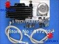 Envío Libre Motocicleta GN250 Motor Radiador de Aceite Enfriador de Aceite SISTEMA de JUEGO COMPLETO