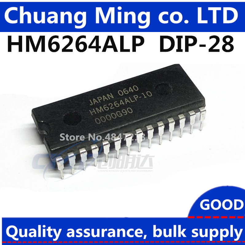 Free Shipping 5pcs/lot HM6264ALP-15 HM6264P-12 HM6264ALP HM6264 HY6264ALP-10 HY6264ALP HY6264ALP-70 HY6264 DIP-28 In Stock 6264(China)