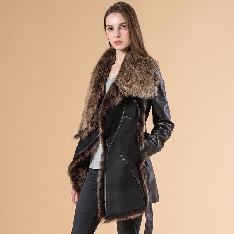 Compare Prices on Long Sheepskin Shearling Coats Women- Online ...