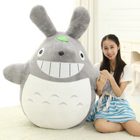 60CM Famous Cartoon Totoro Plush Toys Smiling Soft Stuffed Toys High Quality Dolls Factory Price Lovely Doll Totoro