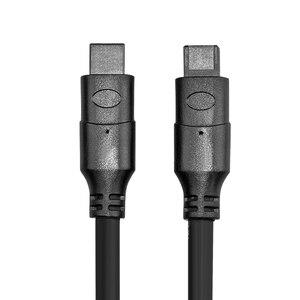 Image 4 - IEEE1394B Data Cable 1394 9P to 9P 9P 9P 9 Pin to 9Pin Industrial Surveillance Camera Cable Firewire 800 Mbps 8M 10M 15M