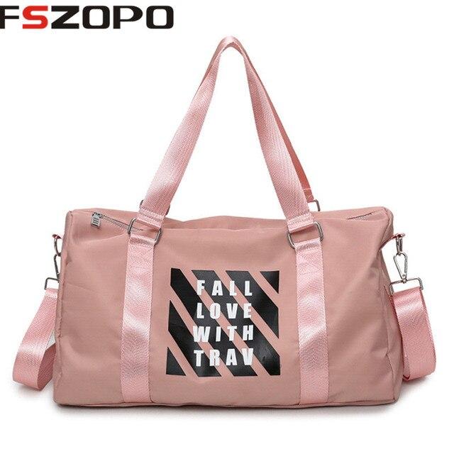 b1d66baef716 Waterproof Men gym bag Women Fitness Travel Handbag Outdoor gymtas sports  bag male women s bags sport