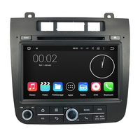 Android 7.1 1024*600 Car DVD Player GPS Navigation System Stereo Radio For Volkswagen VW Touareg 2011 2012 2013 2014 2015 3G 4G