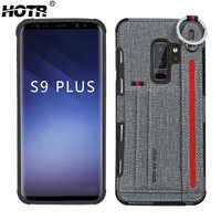 S10 della Cordicella del cavo di Tasca di Carta di Caso per Samsung Galaxy s8 S9 S10 più Posteriore Protegge la Cassa per Samsung Galaxy nota 8 Nota 9 S10e