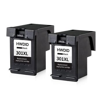 2 cái 301XL Ink Cartridge Đen Thay Thế cho hp 301 xl CH563EE cho Deskjet 1000 1050 2000 2050 2510 3000 3050 3052 3054