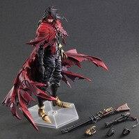 27cm Final Fantasy Vincent Valentine Turks PVC Action Figure Toy Doll Gift