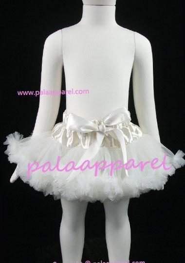 Новорожденный фотографии реквизит ребенка юбка для девочек юбки Pettiskirts шифоновое летнее одежда для малышей - Цвет: Слоновая кость
