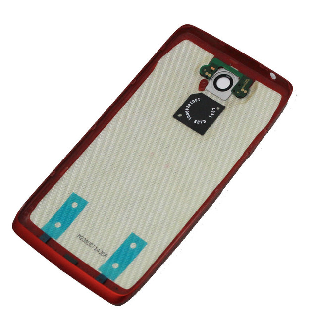 Original new Back Battery Cover housing case door for Motorola Moto Droid Turbo XT1254 XT1225, black blue or red color