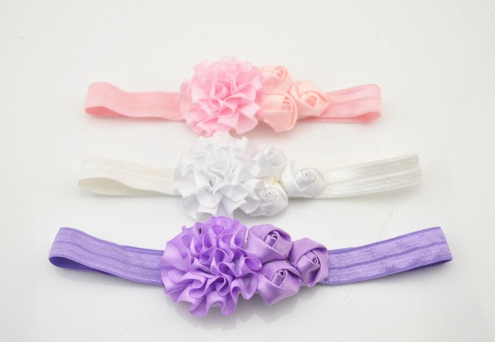 Fashion Beautiful Children Flower Hair Band Baby Cute Hair Hoop Boutique Rose Head Band Girls Hair