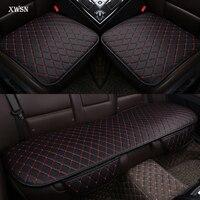 Artificial leather universal car seat cushion for skoda octavia a5 2 a7 rs superb 2 3 kodiaq fabia 3 yeti car seat cover