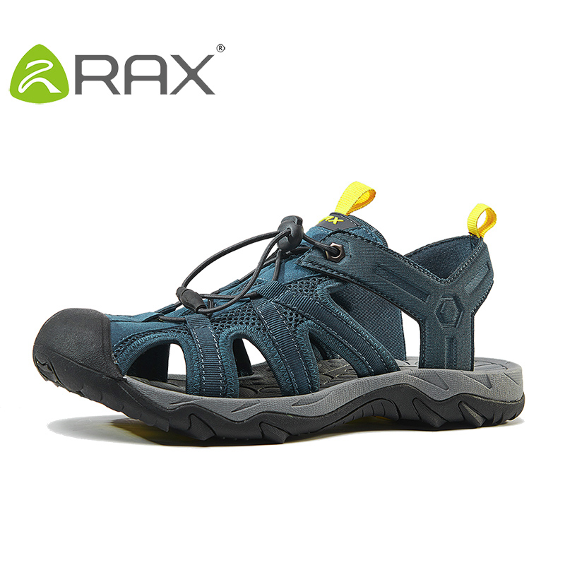 RAX Mens Sports Sandals Summer Outdoor Beach Sandals Men Aqua Trekking Water shoes Men Upstream Shoes Women Quick-drying Shoes