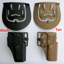 Tactical 100% genuine Military Army for hunting police guns accessories belt CQC holster Glock black Tan right hand