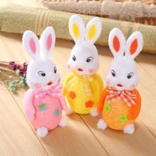 1pcs Lovely Easter Egg Rabbit Bunny Wedding Party Decoration Easter Dolls Crafts Birthday Holiday Nursery Party Decoration