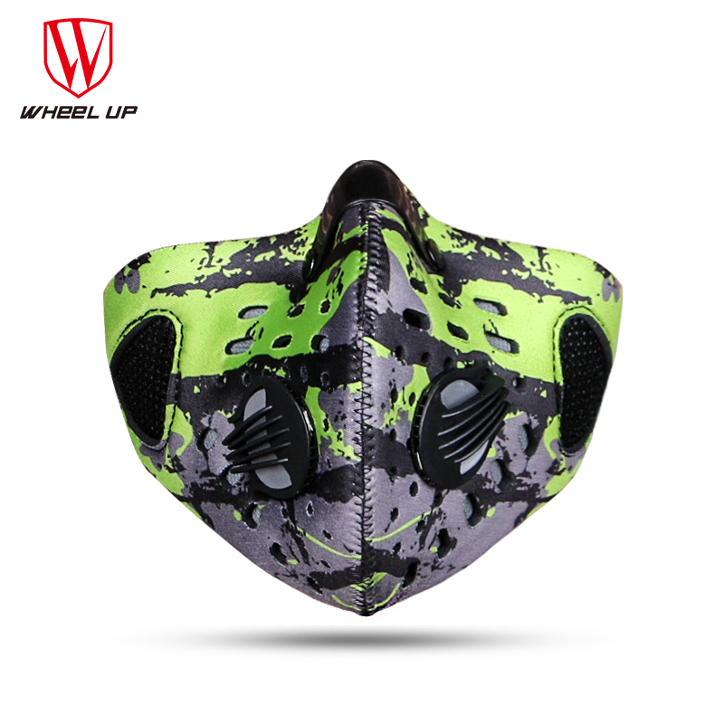 Prix pour La moitié du visage masque vélo vélo masques pollution poussière smog PM2.5 filtre bisiklet maskesi mascarilla sport ski courir vélo masque
