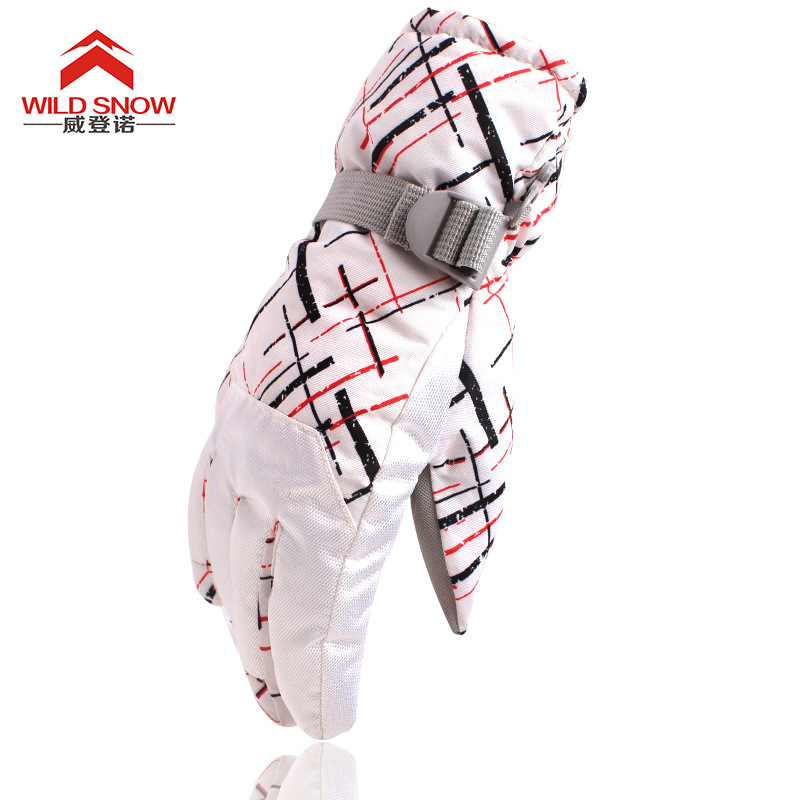 2017 WILD SNOW The new outdoor winter sports skiing waterproof breathable windproof cold thick warm gloves for male and female