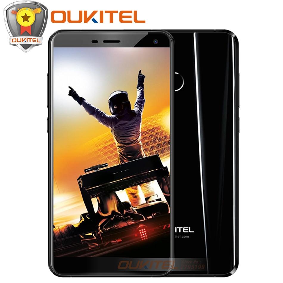 bilder für Original Oukitel U11 Plus Handy 4 GB + 64 GB 5,7 QUAD-CORE-7.0 ''FHD MTK6750T Octa-core Android 7.0 13MP + 13MP Kamera Smartphone