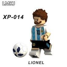 ff1160a4c25 Venta única Copa del Mundo de fútbol de 2018 jugador bloques de  construcción cifras Messi,