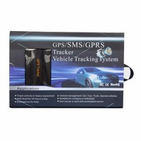 Free Shipping, with remote control car GPS positioner, vehicle positioning device car alarm