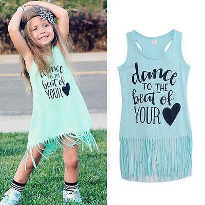 Лидер продаж; Одежда для девочек; Новое поступление; платья для девочек; лето 2016 года; повседневное модное хлопковое милое платье без рукавов с кисточками; голубое платье для девочек