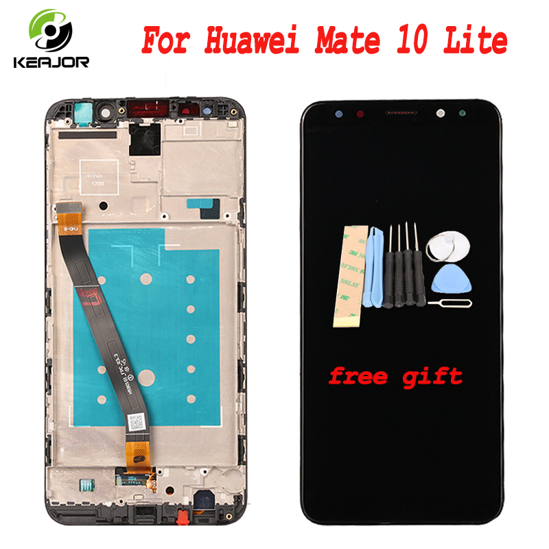 Touch Screen For Huawei Mate 10 Lite LCD Display With Frame Digitizer Assembly Replacement Screen For Huawei Mate 10Lite 5.9Touch Screen For Huawei Mate 10 Lite LCD Display With Frame Digitizer Assembly Replacement Screen For Huawei Mate 10Lite 5.9