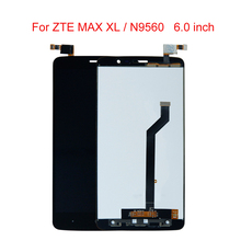 6.0 inch For ZTE MAX XL N9560 LCD Screen Display Digitizer Touch Panel Assembly Replacement  + Free Tools