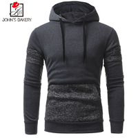John S Bakery Brand 2018 Hoodies Brand Men Patch Design Sweatshirt Male Hoody Hip Hop Autumn