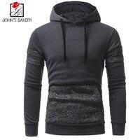 John S Bakery Brand 2018 Hoodies Brand Men Patch Design Sweatshirt Male Hoody Hip Hop Autumn