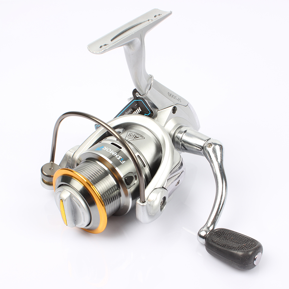 Venture aluminum spool spinning reel 11bb carp fishing for Carp fishing reels