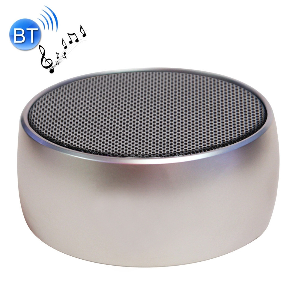 Metal Super Bass Speaker Sem Fio Bluetooth Speaker Hifi Stereo BS01 Portatil Amplificador Enceinte Portátil Poderoso