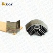 RCIDOS кожаный бумажник угловой край триммер, ручной работы кожаный ремень угловой перфоратор, Япония сталь Кожа филе 10 шт./кор.