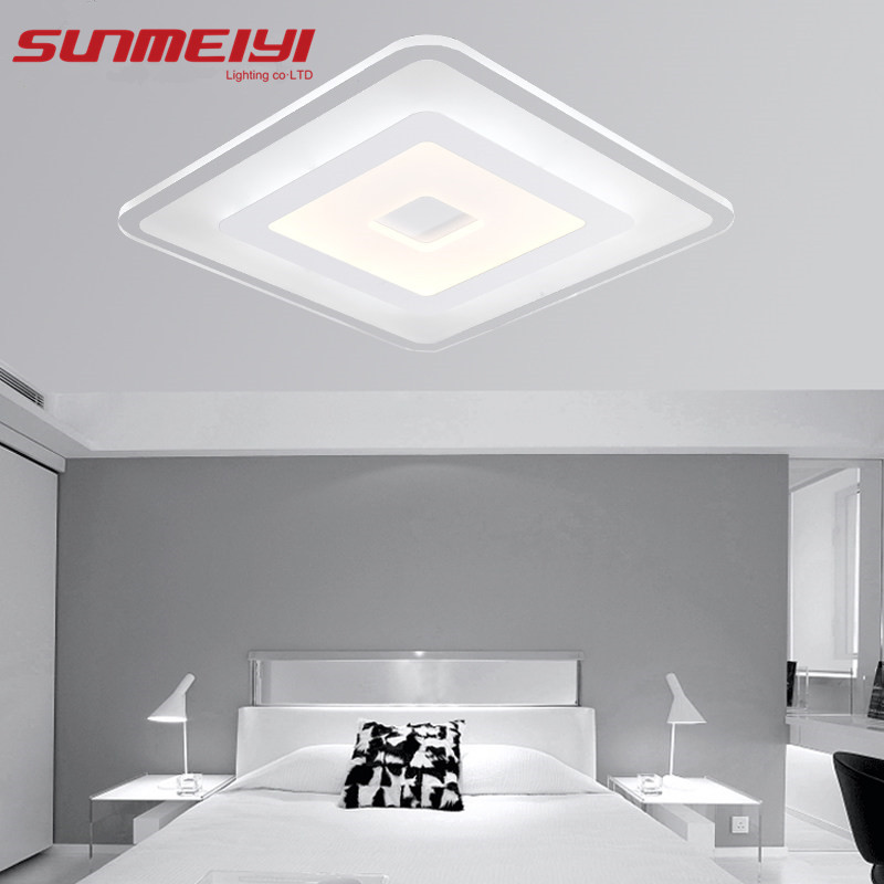 Modern Led Ceiling Lights For Indoor Lighting plafon led Square Ceiling Lamp Fixture For Living Room Bedroom luminaria teto братушева а ред лечо и консервированные салаты