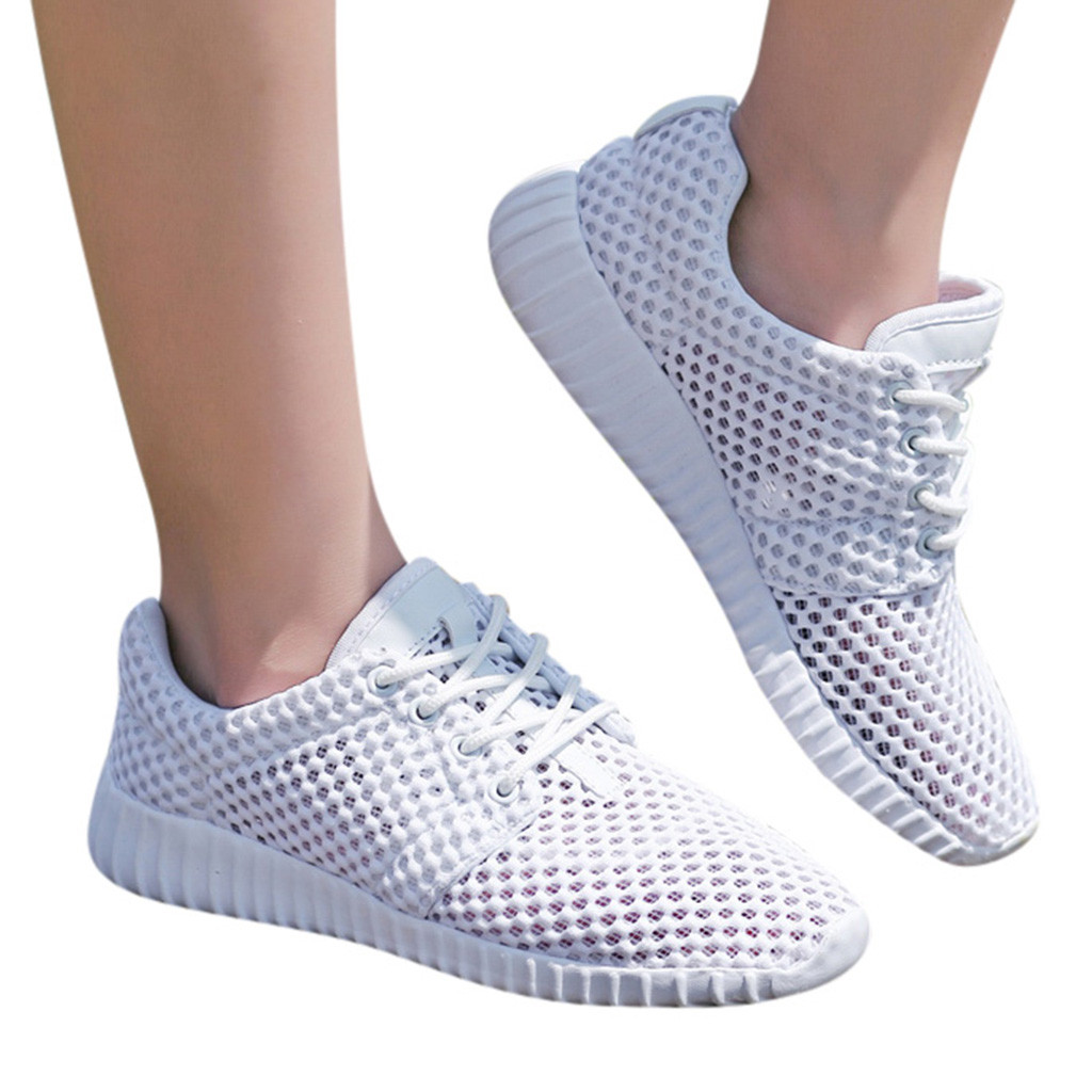 Men Shoes Sneakers Outdoor Sports Unisex Summer Casual Hollow-Net Travel Breathable