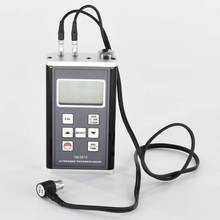 TM-8818 Ultrasonic Thickness Gauge 0.75-400mm 11 kinds materials 500-9990m/s Sound Velocity thickness meter Quartz Glass Steel цены