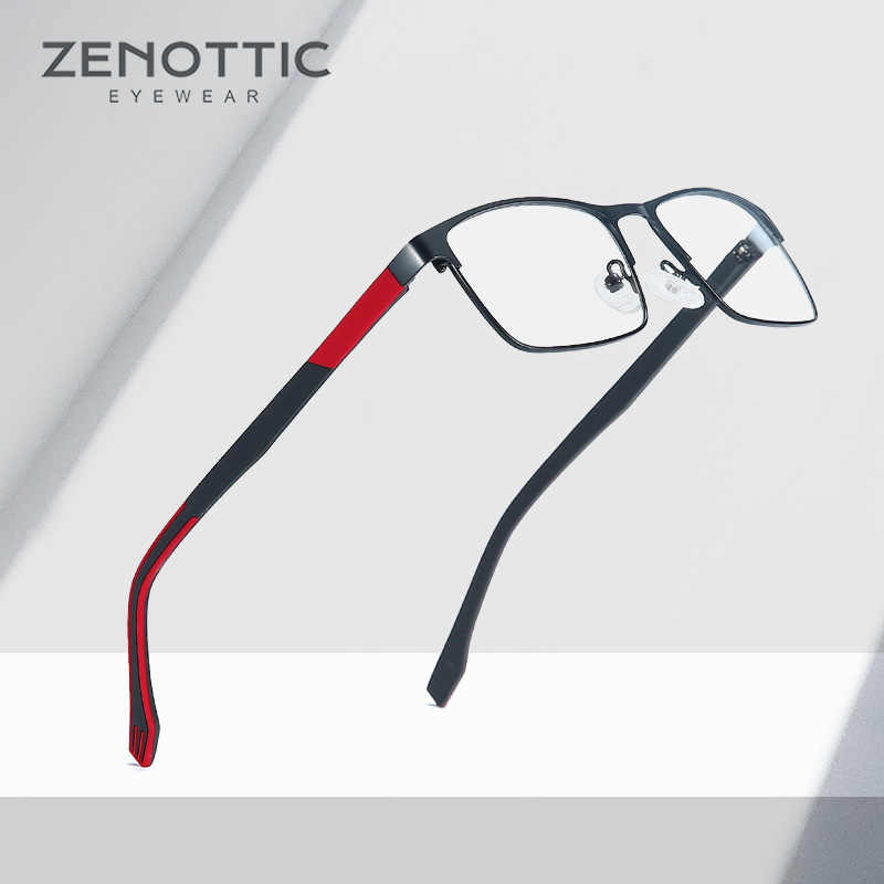 Metal Prescription Glasses Men Optical Eyeglasses Light Photochromic Glasses Frame Progressive Women Glasses Eyewear BT2102