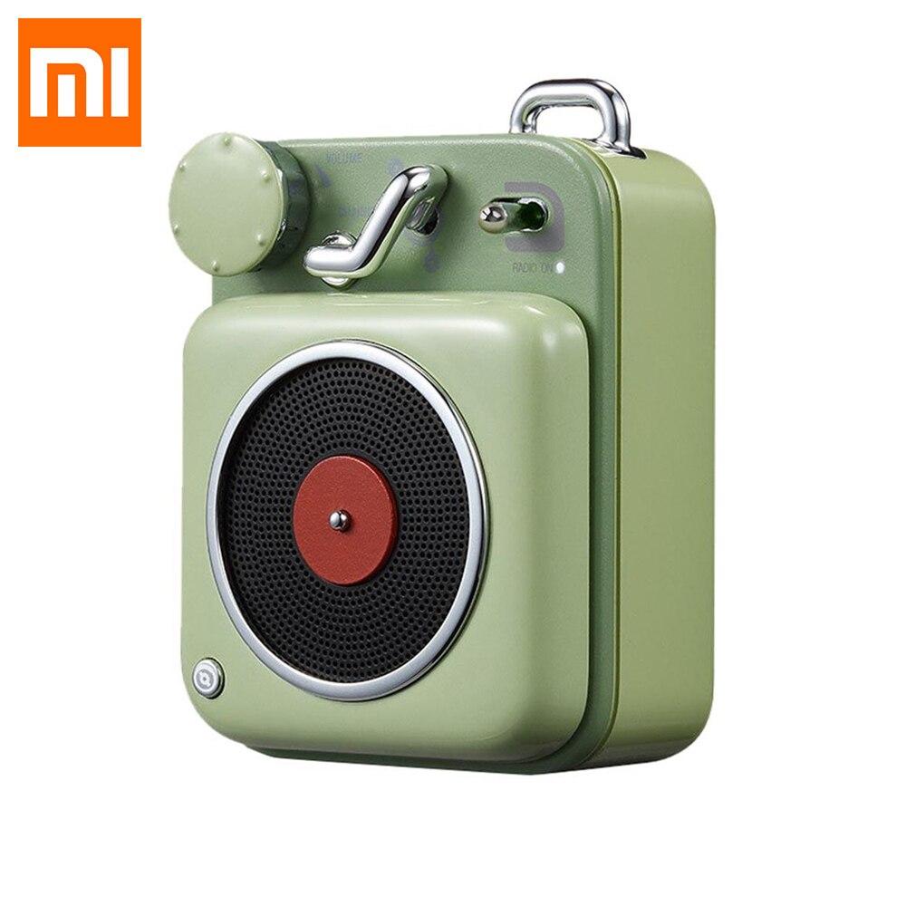 Xiaomi MW Elvis Atomique Tourne-disque B612 Bluetooth Haut-Parleur D'origine mijia Mini Poche Smart Portable Redio Pour Partie Camping