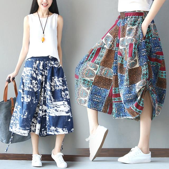 Cotton & Linen Shorts Spring/summer Original Vintage Style For Sale Top Quality zlamn58