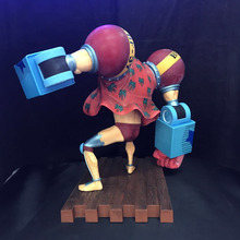 One Piece Franky 20th Anniversary version PVC Figure Model 20CM