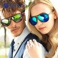 TenLon Óculos sapo estilo Básico dupla ponte Óculos De Sol dos homens óculos com lente revestimento oculos de sol feminino anti uv400