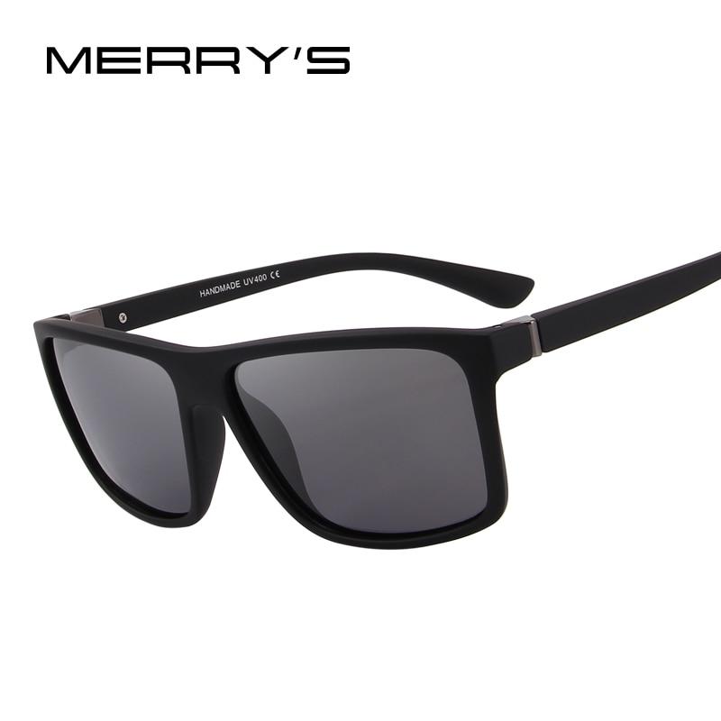 MERRY'S дизайн Для мужчин поляризованных солнцезащитных очков Модные мужские очки 100% УФ-защитой S'8225
