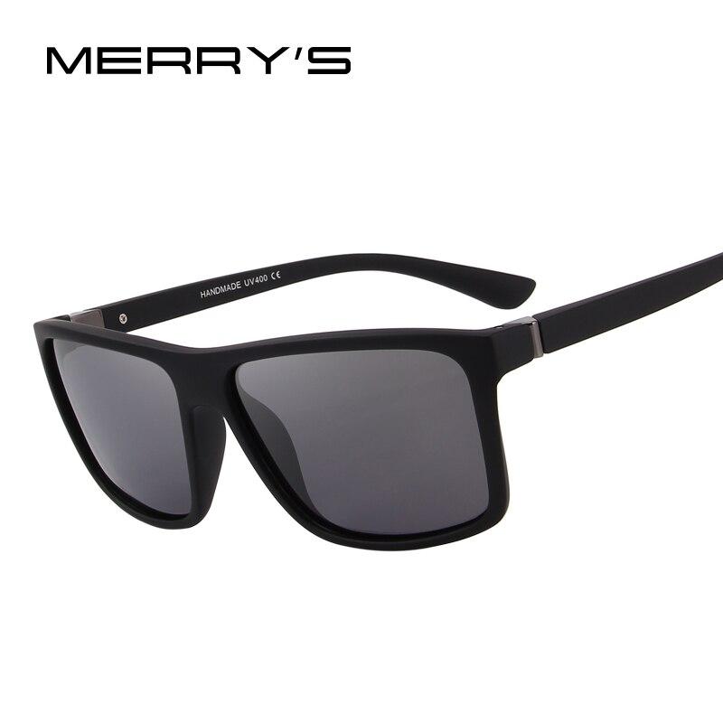 MERRY'S CONCEPTION Hommes lunettes de Soleil Polarisées Mode Masculine Lunettes 100% UV Protection S'8225