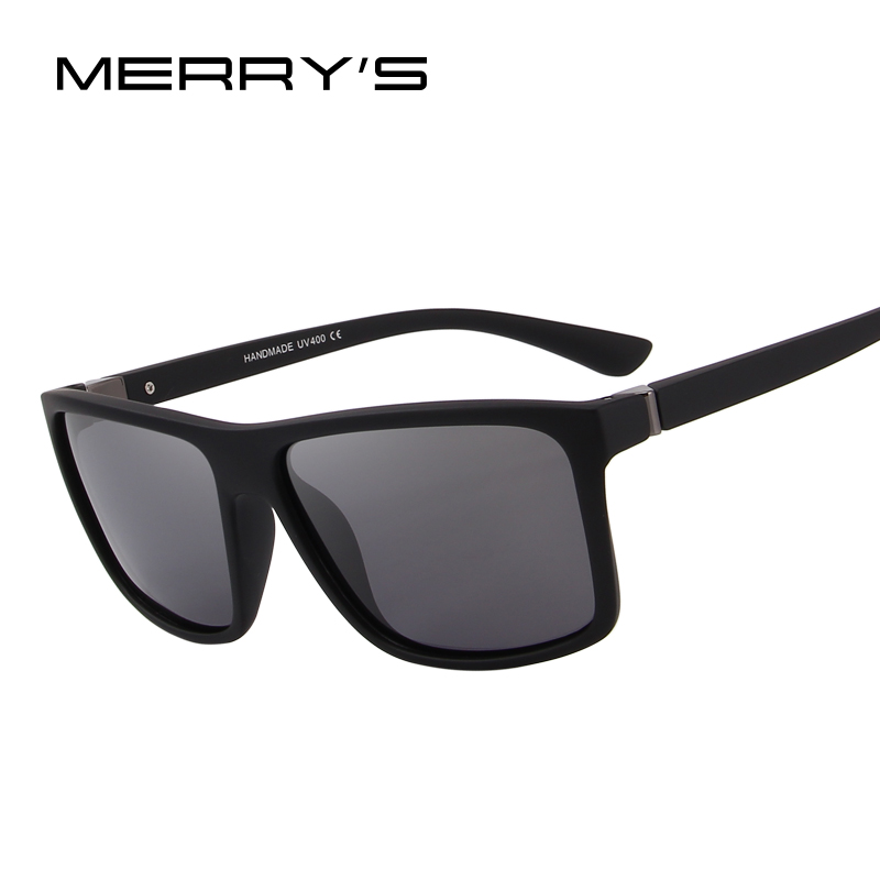 MERRY'S DESIGN Männer Polarisierte Sonnenbrille Mode Männlichen Brillen 100% UV Schutz S'8225