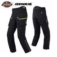 BENKIA зимние мотоциклетные брюки Motocicleta Motocross брюки Pantalon Moto Racing брюки съемный вкладыш
