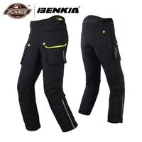 BENKIA зимние мотоциклетные штаны Motocicleta штаны для мотокросса брюки мото гоночные брюки съемный вкладыш